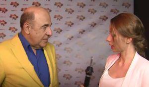 Ангелина Пичик берет интервью у Вадима Рабиновича. Фото: скриншот из видео